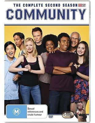 COMMUNITY The Complete Second Season DVD R4 New / Sealed