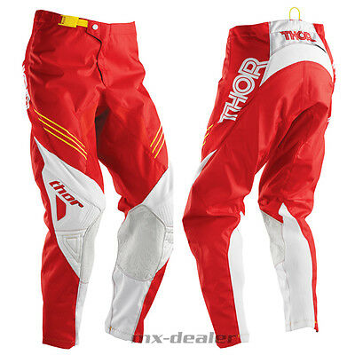 16 Thor Phase Hyperion rot weiss pant Hose mx motocross Cross