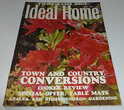 Ideal Home VINTAGE RETRO MAGAZINE May 1967