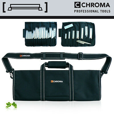 CHROMA - KB-02 Messertasche für 16 Messer