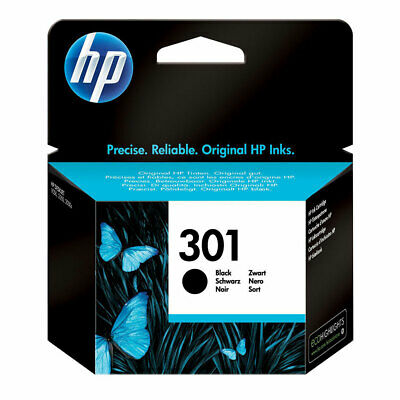 Genuine HP 301 Black Ink Cartridge for Deskjet 1000 1510 3050A 2540 2510 CH561EE