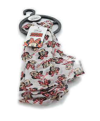 Disney - Minnie Mouse Kinder Tuch, Gr one size, Farbe weiß bunt