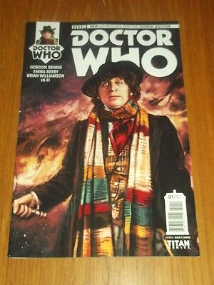 Doctor Who #1 Fourth Doctor Titan Comics Cover A April 2016 Nm (9.4)
