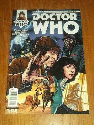 Doctor Who #1 Fourth Doctor Titan Comics Cover C April 2016 Nm (9.4)