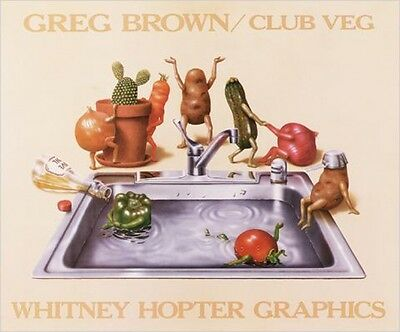 Greg Brown - Club Veg Poster Kunstdruck Bild (72x60cm) #2829