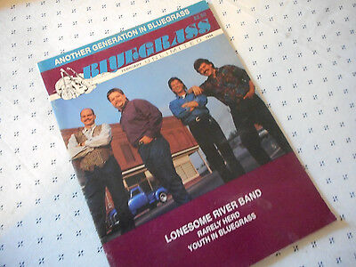 Lonesome River Band Covers Bluegrass Unlimited Magazine February 1994