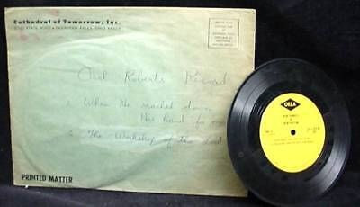 33 1/3 RMP Record Evangelist Oral Roberts Cathedral of Tomorrow Cuyahoga Fall OH