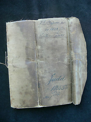 Indian Mutiny & Crimea 7th Dragoon Guards - Soldiers Account Book c.1860-62