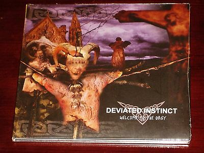 Deviated Instinct: Welcome To The Orgy CD 2006 Peaceville Records UK Digipak NEW