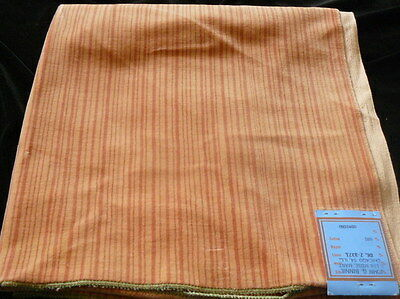 RARE VTG BRUNSCHWIG & FILS Velvet FABRIC Orange
