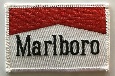 Marlboro Racing  embroidered cloth patch.   D010207