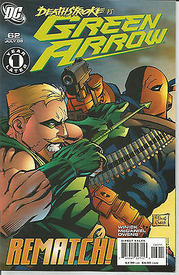 Green Arrow # 62 * Deathstroke *