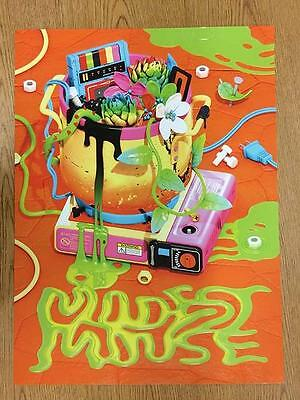 Modest Mouse 2016 Original Concert Poster Giclee
