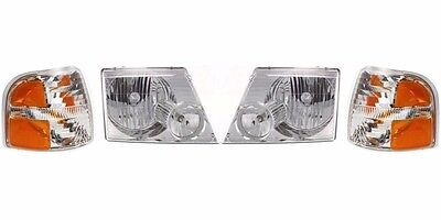 COUNTRY COACH AFFINITY 1994 1995 1996 HEAD LIGHTS LAMPS RV HEADLIGHTS SET
