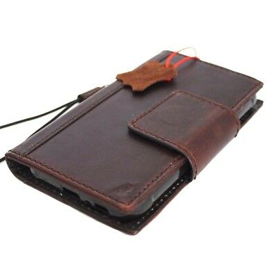 Genuine Full Leather Case for Samsung Galaxy S7 active Credit Cards slots Magnet