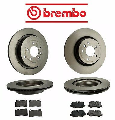 Pads Kit For Land Rover Range Rover Sport 4.2L 06-09 New Complete Brake Rotors