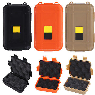 Outdoor Waterproof Airtight Survival Storage Case Container Carry Box Shockproof