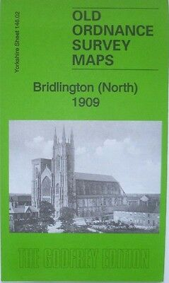 Old Ordnance Survey Detailed Maps Bridlington (N) Yorkshire 1909 Godfrey Edition