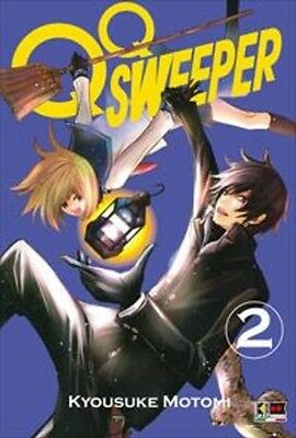 manga QQ SWEEPER N. 2 - flashbook nuovo ITALIANO