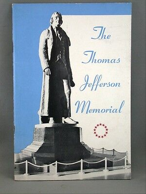 The Thomas Jefferson Memorial Guide Vintage Book Souvenir 1949 Illustrated