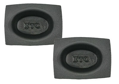"NEW INSTALL BAY VXT68 PAIR OF ACOUSTIC BAFFLE 6"" x 8"" OVAL STANDARD CAR AUDIO"