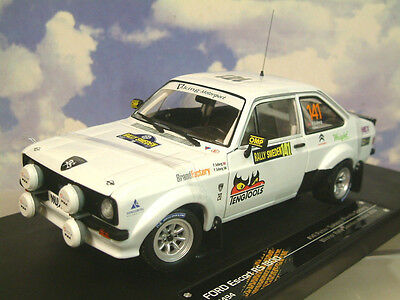Sun Star 1/18 Ford Escort Rs1800 1St Historic Rally Sweden Solberg 2013 #4494