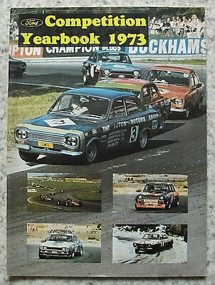 AUTOSPORT FORD COMPETITION YEARBOOK 1973 A Complete Guide to FORD in MOTORSPORT