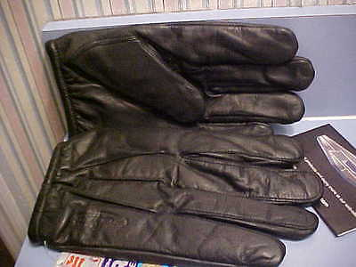 Damascus Hand Armor DVG850 Leather Duty Gloves - Kevlar Liners & Waterproof -S