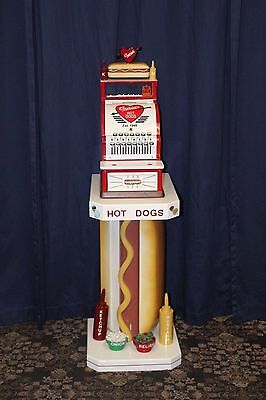 Cupids Hot Dog Custom Vintage 1920s National Cash Register w/ Custom Stand