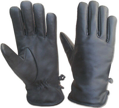SECURITY GLOVES SYNTHETIC LEATHER KEVLAR  LINED PG300-4422 POLICE SAFETY