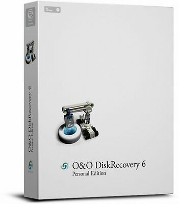 Oando Diskrecovery 6 Personal Edition-Cd-Rom Oando Software Gmbh New