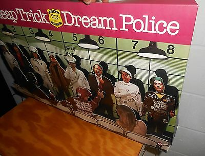 Cheap Trick Dream Police 3D Pop-out Cardboard Display 1979 Poster 25x13 RARE