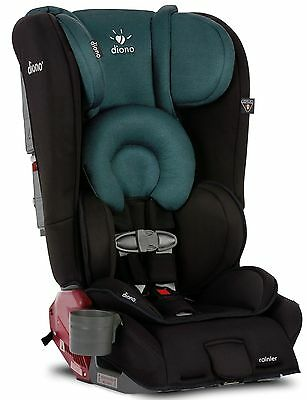 Diono Rainier Black Forest Convertible Booster Folding Child Safety Car Seat NEW