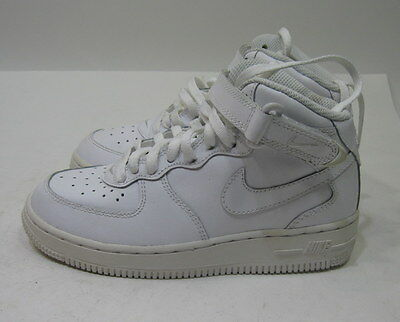 buy online 99994 7e14a new Nike Air Force 1 Mid Shoes 314196 113 White Preschool Size 12.5 C