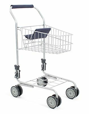 CHIC 2000 Bayer Childs Supermarket Trolly Blue Toy Shop Shopping Trolly New