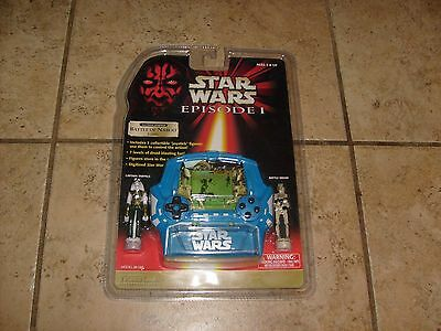 RARE STAR WARS Battle of Naboo Tiger Electronic Handheld Game 1999 MOSC