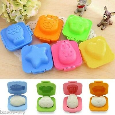 6 Pcs/Set BD Cartoon Eggs Cute Mold Mould Pan Cooking Tools Kitchen for Kids
