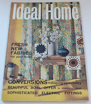 Ideal Home VINTAGE RETRO MAGAZINE May 1966