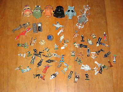 Star Wars Galoob Micro Machines Lot of 65 : Figurines and Vehicles
