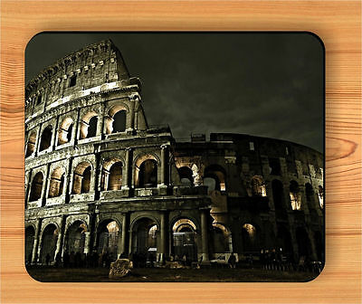 ITALY ROME COLOSSEUM ROMAN ARCHITECTURE MOUSE PAD -lpa1Z
