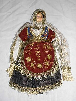 Collectable Ornamental International Doll In National Costume