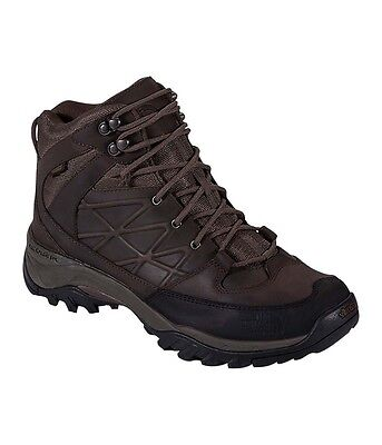 The North Face Mens Storm Mid Wp Leather Hiking boots - Brown