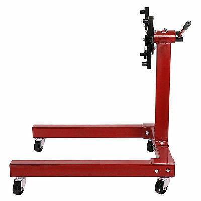 Professional Swivel Transmission Gearbox Engine Stand Support 1250lbs 570KG