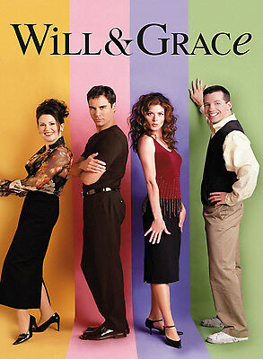 Will & Grace Tv Show Poster Style B  13x19