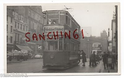 Dundee Postcard Size Old Photo Golden Shred Marmalade Adv.  Car 37 Ref 28