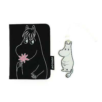 Moomins Passport Holder & Luggage Tag Wallet Travel Set Gift Retro Moomintroll