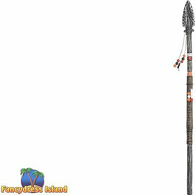CAVEMAN INDIAN THROWING SPEAR HALLOWEEN - fancy dress costume accessory