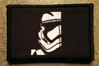 Star Wars Episode 7 Stormtrooper Morale Patch Tactical Military Army Badge Hook