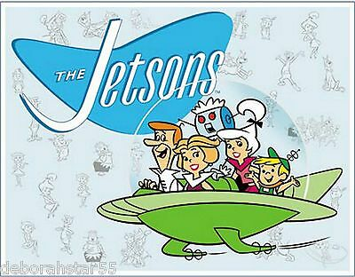 Large The Jetsons Family 60s TV Cartoon Retro Metal Tin Sign Poster New 1854