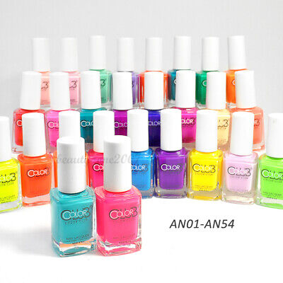 Color Club Nail Polish Poptastic Neon 0.5oz *Choose any 1 color*